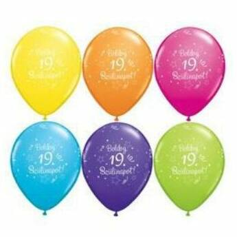 Gumi Lufi - Szülinapi - Boldog 19. Szülinapot 6db /csomag