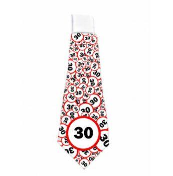 Nyakkendő Sebesség korlátozós 30. Szülinapra