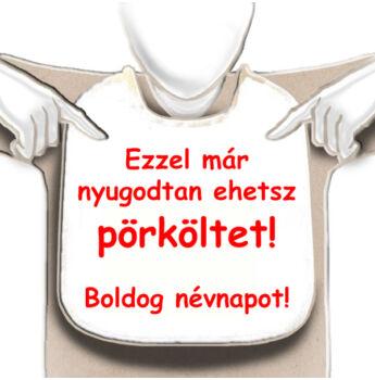 Előke - Ezzel már nyugodtan ehetsz pörköltet! - Boldog névnapot!