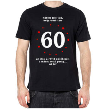 Póló - 60. Születésnapra - XXL