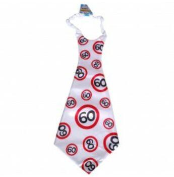 Óriás Születésnapi Sebességkorlátozó Nyakkendő 60.
