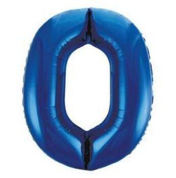 Fólia Lufi - Szám Alakú Kék - 0 - 86cm