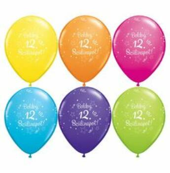 Gumi Lufi - Szülinapi - Boldog 12. Szülinapot 6db /csomag