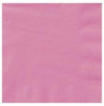 Egyszínű szalvéta - Hot pink rózsaszín - 20db-os