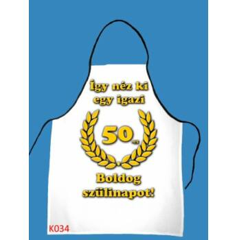 Kötény - Boldog 50. szülinapot!