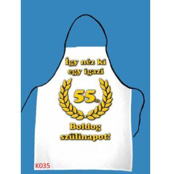 Kötény -  Boldog 55. szülinapot!