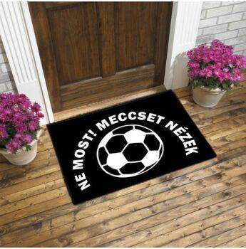 focis lábtörlő - ne most meccset nézek
