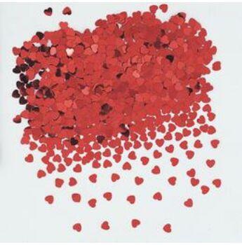 Konfetti - Piros Szívek