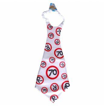 Óriás Szülinapi Nyakkendő 70. Születésnapra
