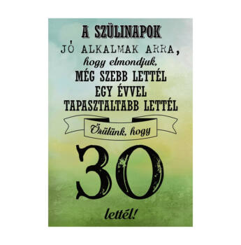 Születésnapi Üveg Címke 30. Születésnapra Legjobb Évjárat 2 Db-Os