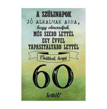 Születésnapi Üveg Címke 60. Születésnapra Legjobb Évjárat 2 Db-Os