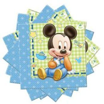 Szalvéta - Mickey Baby Parti - 20 db