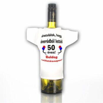 Üvegpóló 50 - Gratulálok, hogy önerőből lettél...