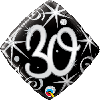 Fólia Lufi - Szülinapi - Birthday Elegant 30.- 46cm