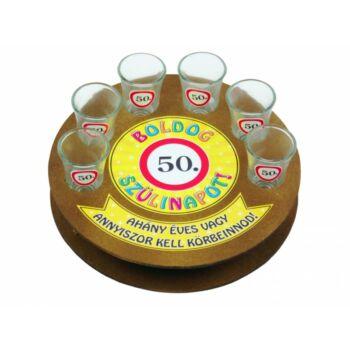 Pálinkás Kínáló Szett - 50