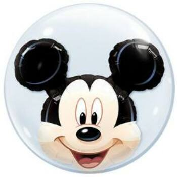 Buborék Lufi - Mickey Egér Dupla - 61cm