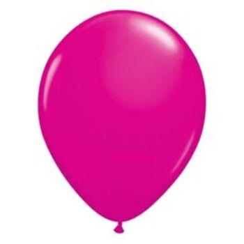 Gumi Lufi - Egyszínű - Vadmálna rózsaszín - 28cm