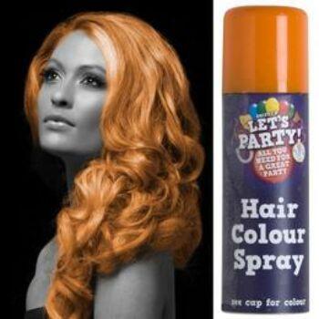 Hajszínező Spray Kimosható - Narancssárga