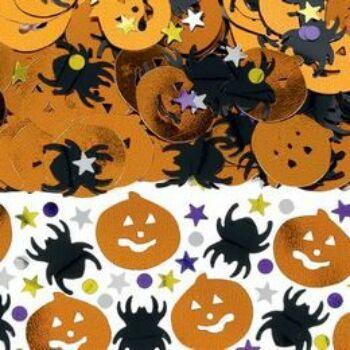 Konfetti - Halloween Tökfejes