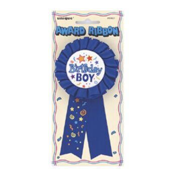 Kitűző - Birthday Boy Feliratú Szülinapi Szalagos