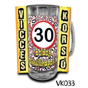 Vicces Korsó - Boldog 30. Szülinapot