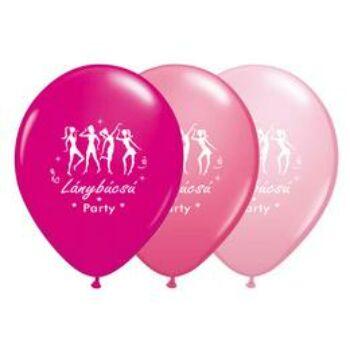 Gumi Lufi - Mintás - Lánybúcsú Party - 28cm