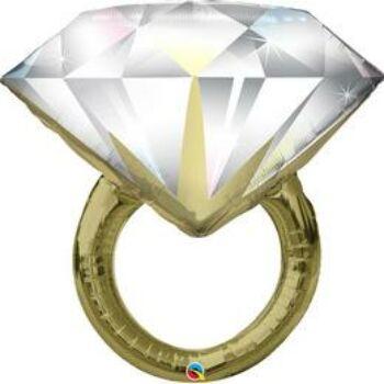 Fólia Lufi - Esküvői - Gyémánt Gyűrű 94 cm