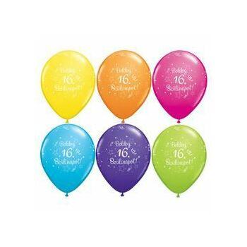 Gumi Lufi - Szülinapi - Boldog 16. Szülinapot 6db /csomag