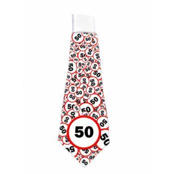Nyakkendő Sebesség korlátozós 50. Szülinapra