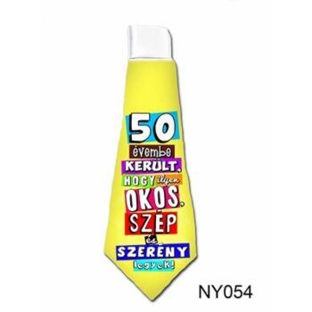 Nyakkendő - 50 évembe került...