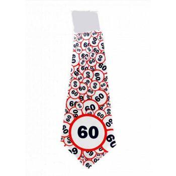 Nyakkendő Sebesség korlátozós 60. Szülinapra