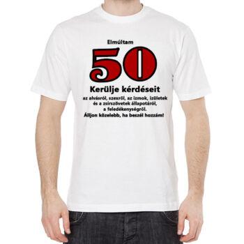 Póló - 50. Születésnapra
