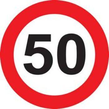 50-es kressz tábla kartonból