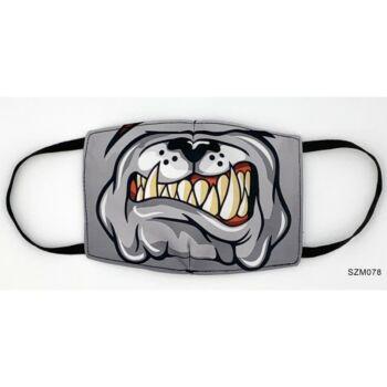 Vicces Szájmaszk - Bulldog