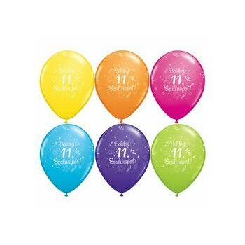 Gumi Lufi - Szülinapi - Boldog 11. Szülinapot 6db /csomag
