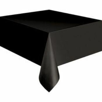 Asztalterítő - Fekete Műanyag - 137 cm x 274 cm