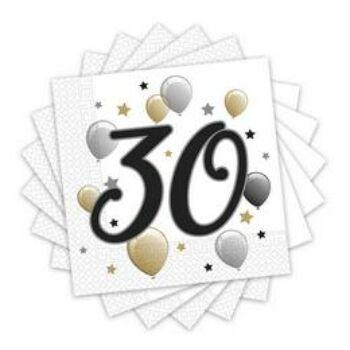 30-as szalveta