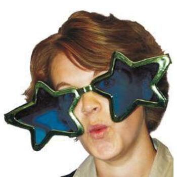 Parti Szemüveg - Óriás Csillag Alakú
