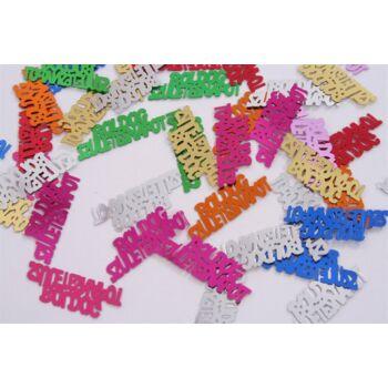 Konfetti - Boldog születésnapot - vegyes színű