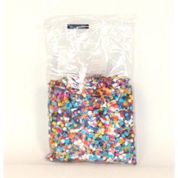 színes papír konfetti - 50 g