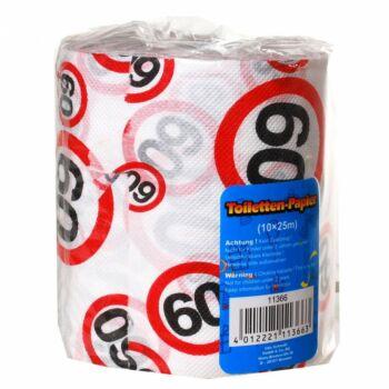 Születésnapi WC Papír 60-As Számos Sebességkorlátozó