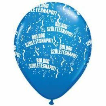 Gumi Lufi - Szülinapi - Boldog Születésnapot Kék - 28cm