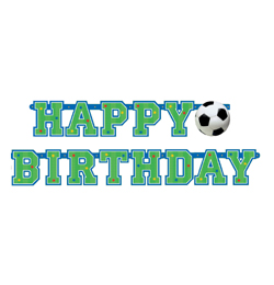 focis szülinapi kép Foci (Championship) Parti Happy Birthday Füzér   1,5 M   Focis  focis szülinapi kép